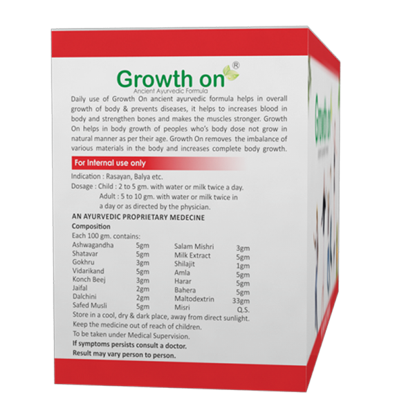 Growth On Supplements